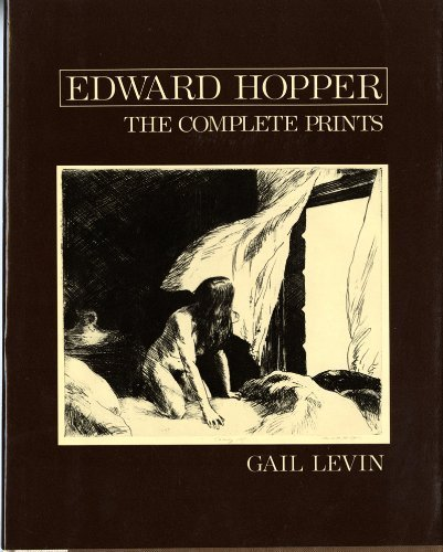 Edward Hopper: The Complete Prints by Gail Levin (1979-11-17)