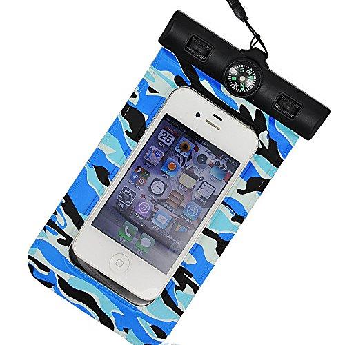 IPX8 wasserdicht zertifiziert,PALADY Tasche Wasserdichte schwimmende wasserdichte Telefonabdeckung Universal-Telefon (6 '') Wasserdicht (30m Tiefe). Wasserdichte Tasche Schutz gegen Überschwemmungen, iPhone Tasche SE, iPhone 7 Samsung Galaxy S7 Sony Huawei Wiko MP3 MP4 und andere Geräte gleicher Größe oder kleiner als 6 '' - ideal für Kajak / Boot / Schwimmen / Rafting - Schwarz