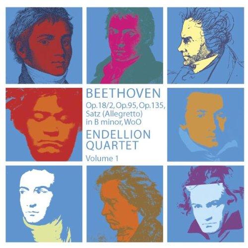 Preisvergleich Produktbild Streichquartette Vol.1: Op.18, 2 / Op.95 / Op.135