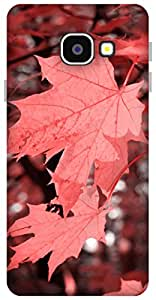 The Racoon Grip Autumn Fall Corel hard plastic printed back case / cover for Samsung Galaxy A3 (2016)