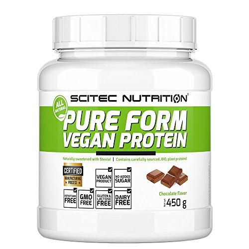 25c127ec8 Scitec Nutrition Pure Form Vegan Protein Toffee de Avellana - 450 gr