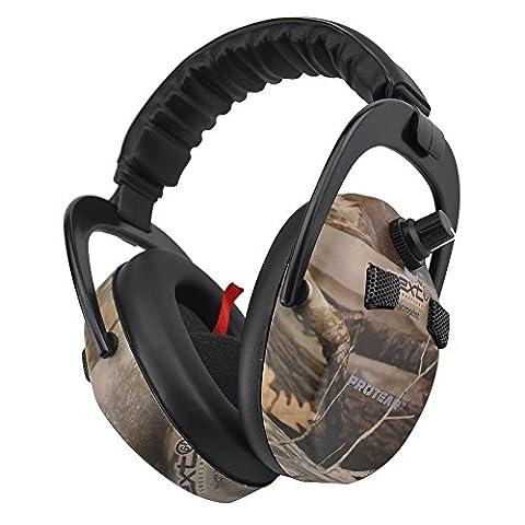 Protear Elektronische Ohr Beschützer / Earmuff Taktische Headset Für Jagd und Schießen, NRR 23 (Headset Seal)