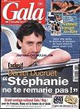 GALA [No 271] du 20/08/1998 - DANIEL DUCRUET - STEPHANIE - PASCAL BRUNNER - LAURENT BAFFIE - CHRISTINE BRAVO.