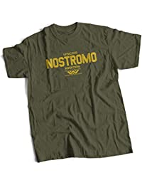 bybulldog® USCSS Nostromo Alien Mens Premium T-Shirt Choice of 15 Colours Small to 3XL