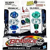Beyblade Metal Masters Nightmare Rex VS Evil Kerbecs Hasbro