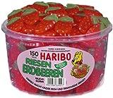 Haribo Riesen Erdbeeren 1.350kg, Inhalt 150 Stück