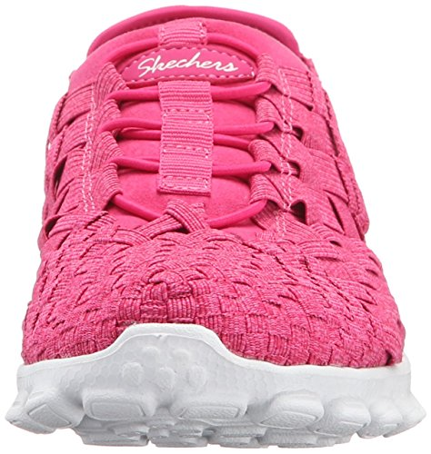 Skechers Sport Easy Flex 2 Pedestal Fashion Sneaker Fuchsia