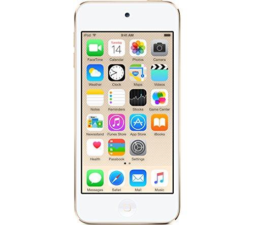 51fupFbcz5L - [mp3-player.de] iPod Touch 6G 128GB in gold für 322€ statt 399€