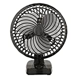 VARSHINE A-01 Copper Winding 225mm Air Wall Cum Table Fan with Powerful High 3 Speed Motor, Black