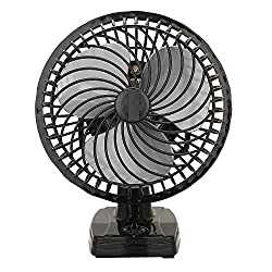 VARSHINE Happy Home Junior Air Wall Cum Table Fan || with Powerful High 3 Speed Motor || High Speed || Copper Winding || 6 inch (225mm) || with 1 Season Warranty || A-03
