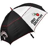 """2015 Callaway Big Bertha 64"""" Double Canopy Mens Golf Umbrella"""