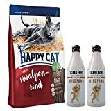 Happy Cat Voralpenrind 10 kg + 2 x TJURE Frecher Wildfang