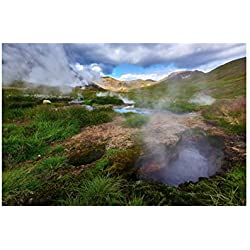 Tirage photographique du paysage islandais