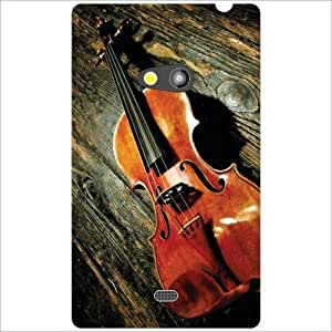 Back Cover For Nokia Lumia 625 (Printland)