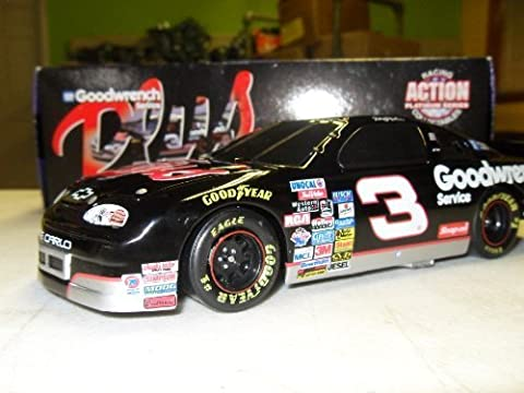 Dale Earnhardt GM Goodwrench Plus #3 Bank 1997 Monte Carlo Action Racing 1:24 Die-Cast Stock Car Limited Run by NASCAR Action Racing Collectibles