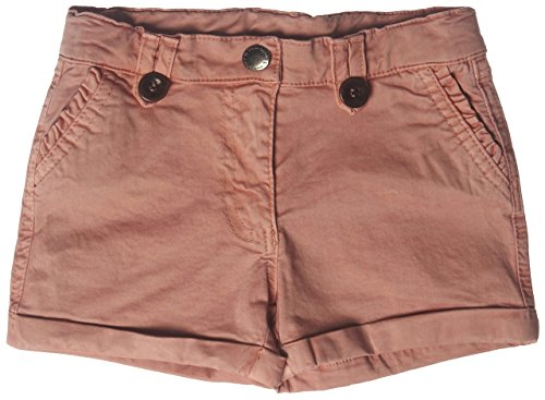Marc O' Polo Kids Mädchen Short 1533215, Einfarbig, Gr. 104, Rosa (rose tan 2161) (Tan Baumwolle Shorts)