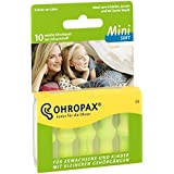 Para los oídos más pequeños - Tapones para los oídos Ohropax Mini Soft - Perfecto para niños y personas con canales auditivos más pequeños.