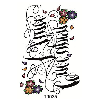 oofayzblr-1pcs-temporanea-lettera-tatuaggio-adesivo-di-ancoraggio-corona-croce