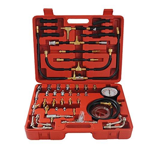 Benzindruckprüfer Benzindruckmesser Benzindrucktester Einspritzanlage Werkzeug 0-10Bar