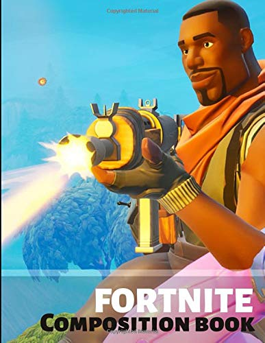 Fortnite Composition Book: College Ruled blank (100 pages) Composition Notebook. Ideal as notebook,Journal,Workbook for students,teens,boys,girls and ... battle royale at school and home (Unofficial)