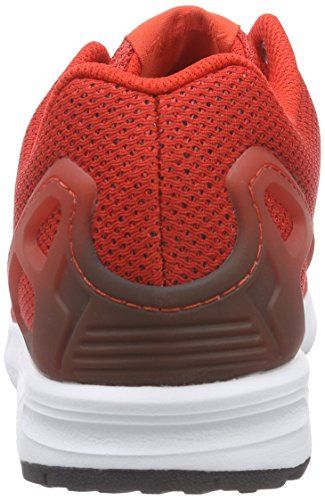 adidas ZX Flux, Chaussures de course homme Rouge (Red/Core Black/White)