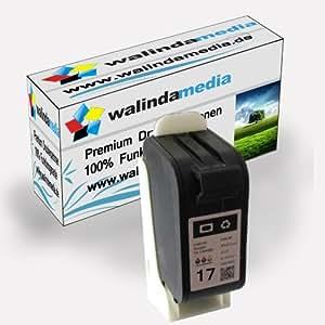 HP 17 cartouches d'encre remanufacturées haute capacite couleur Deskjet 816C / 817C / 825C / 825CVR / 840C / 841C / 842C / 843C / 845C / 845CVR Fax 1010