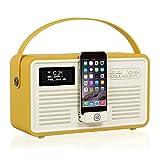 VQ Retro Mk II DAB/DAB+ Digital- und FM-Radio mit Bluetooth,...