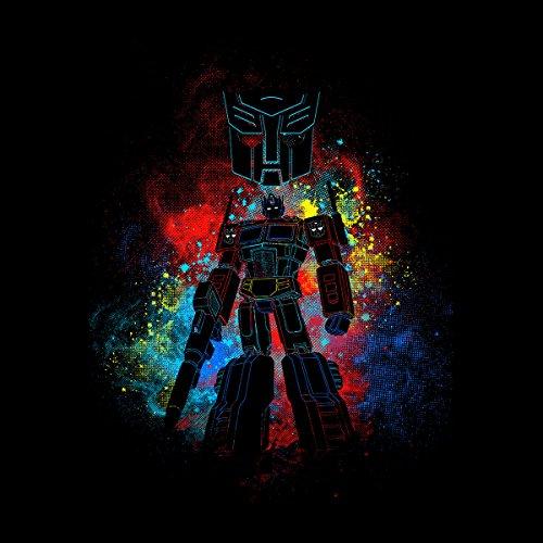 Autobot Optimus Prime Transformers Men's Vest Black