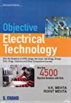 'Objective Electrical Technology' by Mehta and Mehta is a comprehensive collection of multiple choice questions specifically for the electronic engineering students preparing for UPSC, IAS, B.SC Engineering, Diploma and other competitive examination...