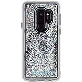 Case-Mate - Samsung Galaxy S9+ Case - Waterfall - Cascading Liquid Glitter - Protective Design - Iridescent