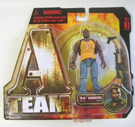 ATeam 2010 Movie 3 3/4 Inch Action Figure B A  Baracus Quinton Rampage  Jackson by A-Team