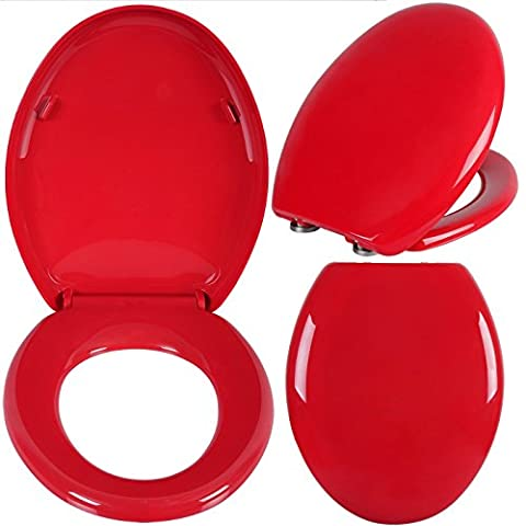 WOLTU WS2637-1 Toilet Seat with Fast Fix/Quick, Soft Close Hinges,Washroom