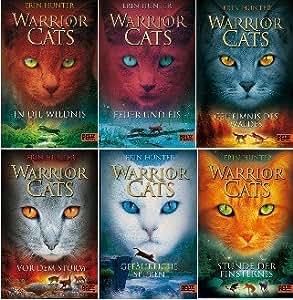 Warrior Cats Staffel I Band 1 - 6 im Set in gebundener