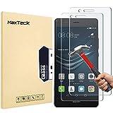 MaxTeck [3 Pièces] Verre Trempé Huawei P9 Lite, Film Protection en Verre trempé...