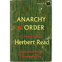Anarchy and Order: Essays in Politics