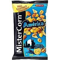 Grefusa 109849 - MisterCorn América | Cocktail de Frutos Secos con Sabor a Salsa Sweet Carolina - 180 gr