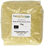 Buy Whole Foods Organic White Hulled Sesame Seeds 1 Kg