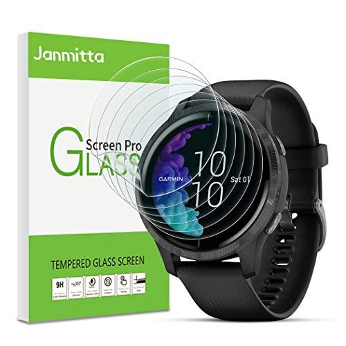 Janmitta [6 Pack pour Garmin Venu 43mm Protecteurs d'écran, Anti-Rayures HD Clair Anti-Bulle TPU Films de Protection pour Garmin Venu 43mm 2019