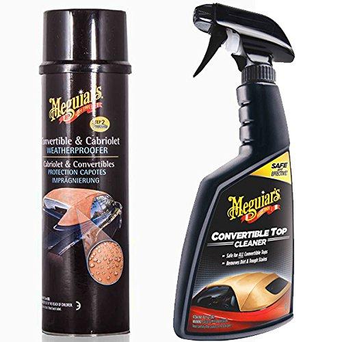 Meguiars Convertible Auto Stoff Kapuze Soft Top Cleaner & Waterproofer Kit