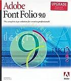 Adobe Font Folio MLP 9.0 (Upgrade from 8.0) Win/Mac -