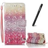Slynmax Coque iPhone 6s Plus Housse de Protection Etui en PU Cuir Fonction Support...