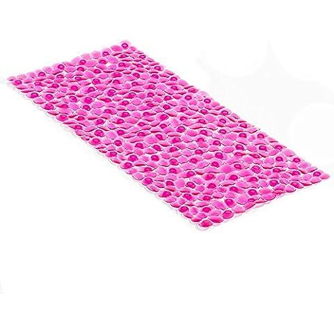 grande tappeto di ghiaia doccia/Bagno stuoie mosaico bagno ventosa pad-D 36x75cm(14x30inch)