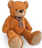 Large Teddy bear XXL kids giant teddy bears child big soft plush toys dolls bedroom decoration teddies bear 100CM