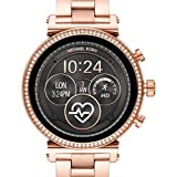 MICHAEL KORS Womens Analogue-Digital Watch with Stainless Steel Strap MKT5063