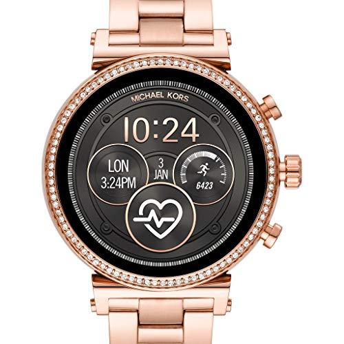Michael Kors Reloj Analógico-Digital Mujer Correa