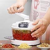 GARLIH Manuelle Küchenmaschine, Hobel/Reibe/Zitruspresse/Schaumschläger/Eidottertrenner, Kunststoff/Rostfreier Edelstahl, Multi-Kulti