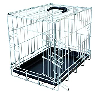 Duvo+ 780/407 Cage de Transport avec Pied Antidérapant pour Chien