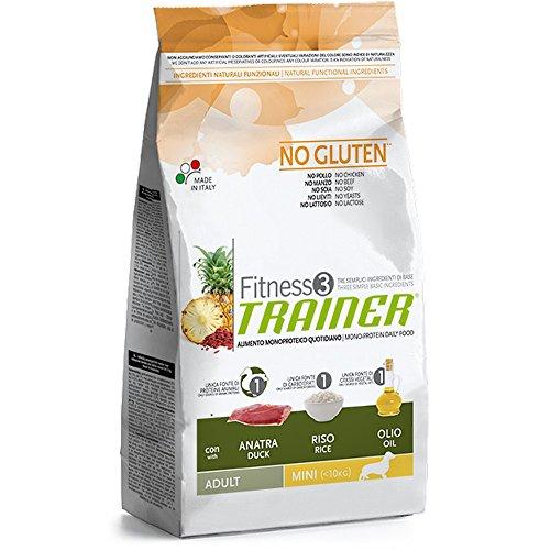 Trainer Fitness 3 No Gluten Mini con Anatra Riso e Olio 2kg