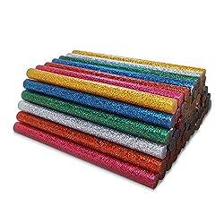 Amdai-Heißklebestick-Auswahl mit Glitter (60er-Packung) - 7 mm x 100 mm