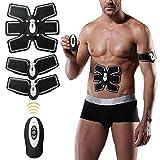 Selenechen Fitness Training Gear - Cinturón tonificador abdominal, para pérdida de grasa y tonificación de...